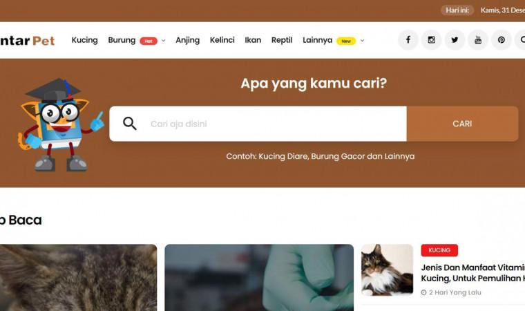 Cara Mudah Menemukan Artikel di Website PintarPet.com